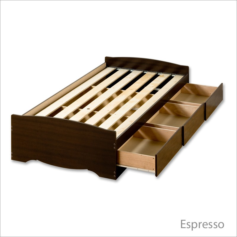 Platform Bed Frame Plans Twin