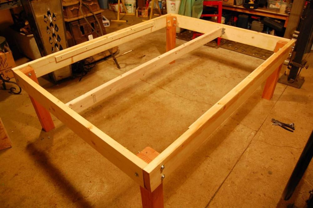 Platform Bed Frame Queen Diy