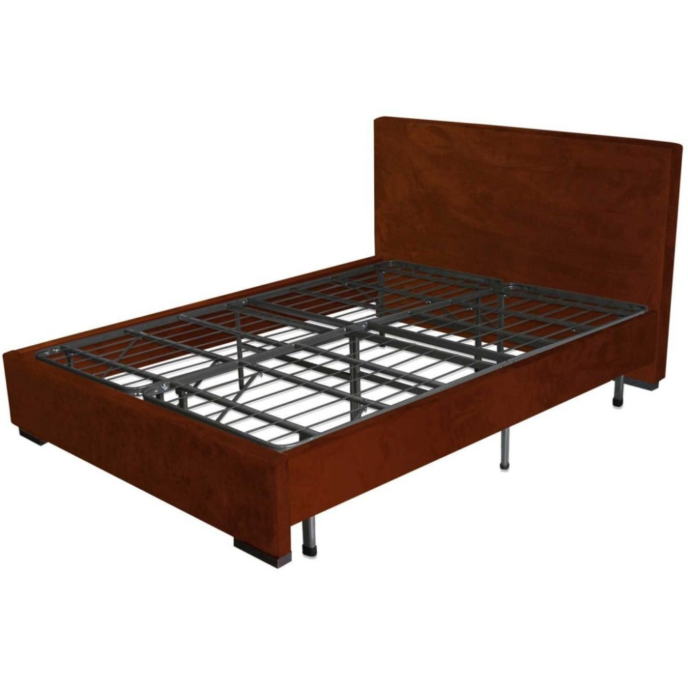 Platform Bed Frame With Headboard