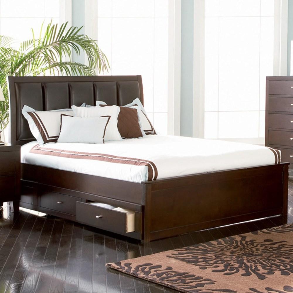 Platform Bed Frames With Drawers