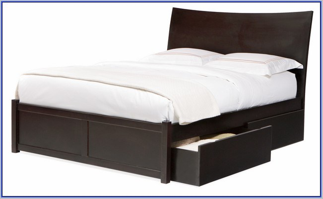 Platform Bed Frames With Storage