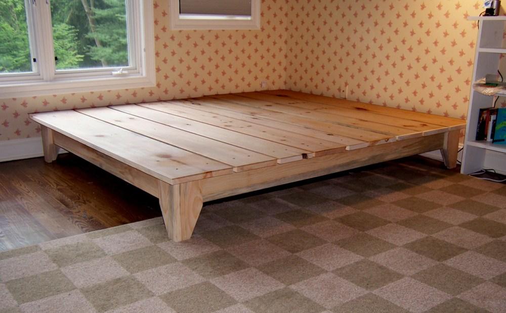Platform Bed King Size Plans