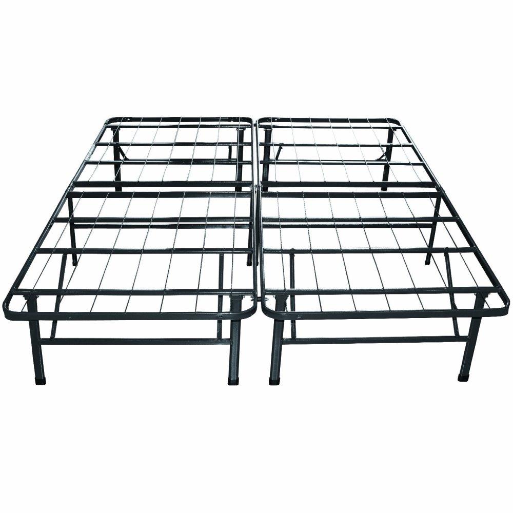 Platform Metal Bed Framemattress Foundation Queen