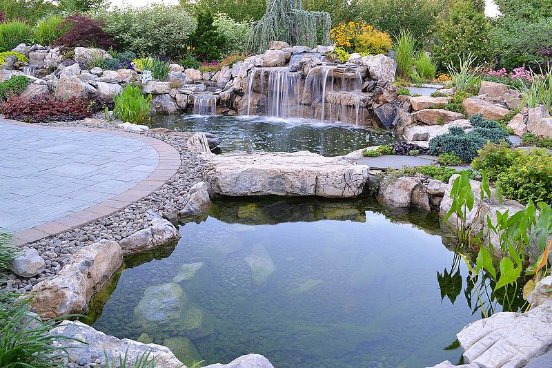 Pond Backyard Ideas