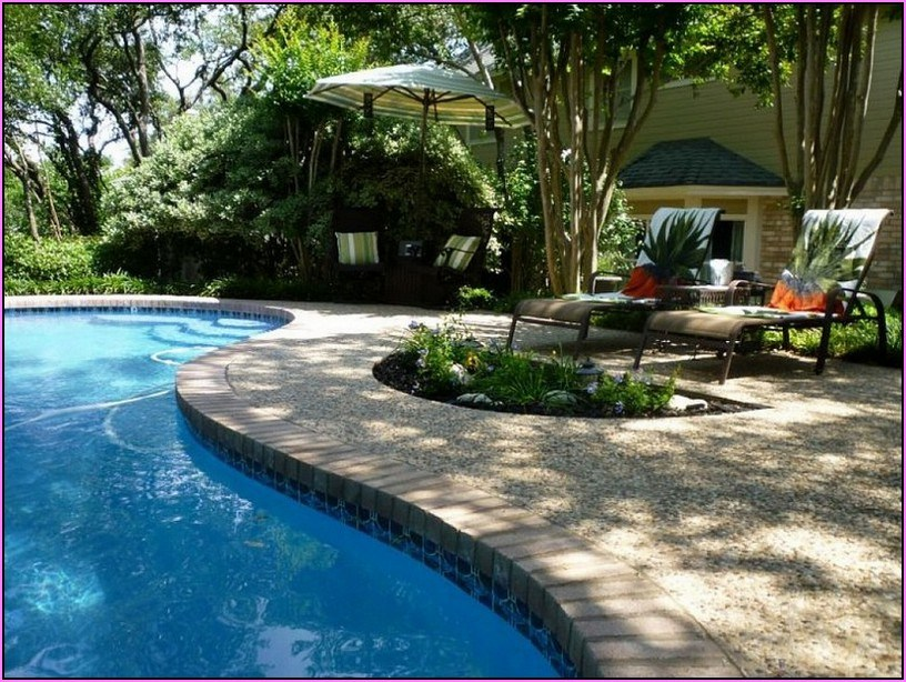 Pool Landscape Ideas On A Budget