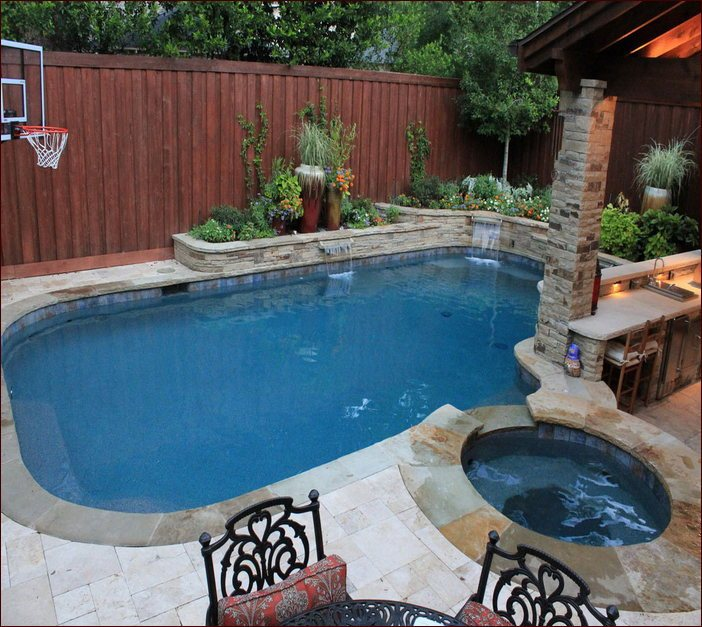 Pool Landscaping Ideas In Texas