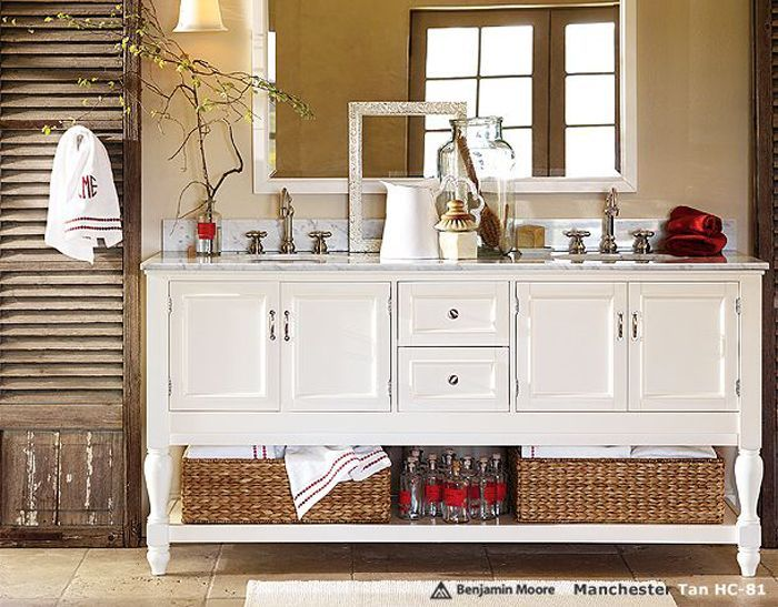 Pottery Barn Bathroom Images
