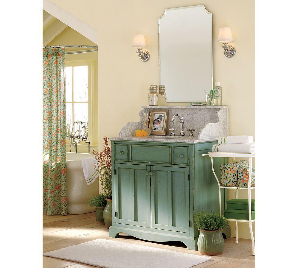 Pottery Barn Bathroom Vanity Ideas