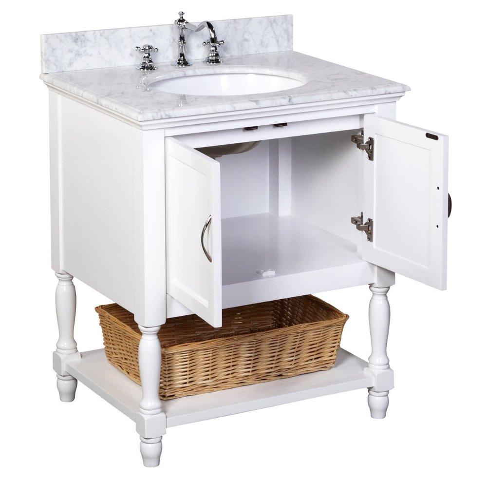 Pottery Barn Small Bathroom Vanity