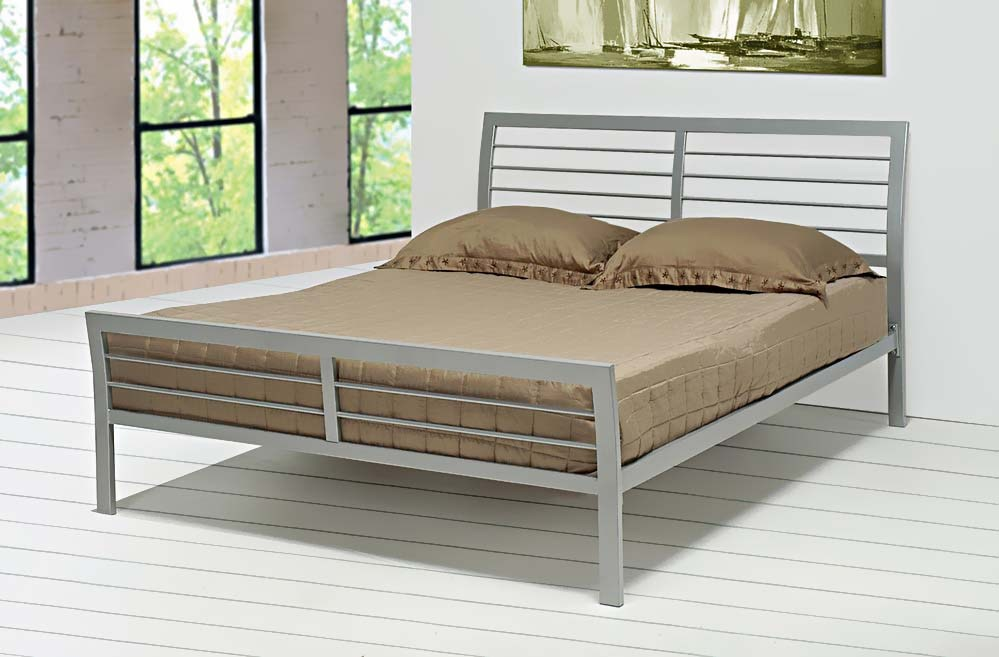 Premier Stockholm Metal Platform Bed Frame Queen