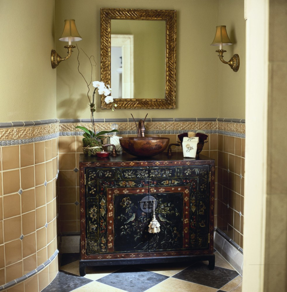 Primitive Bathroom Vanity Ideas