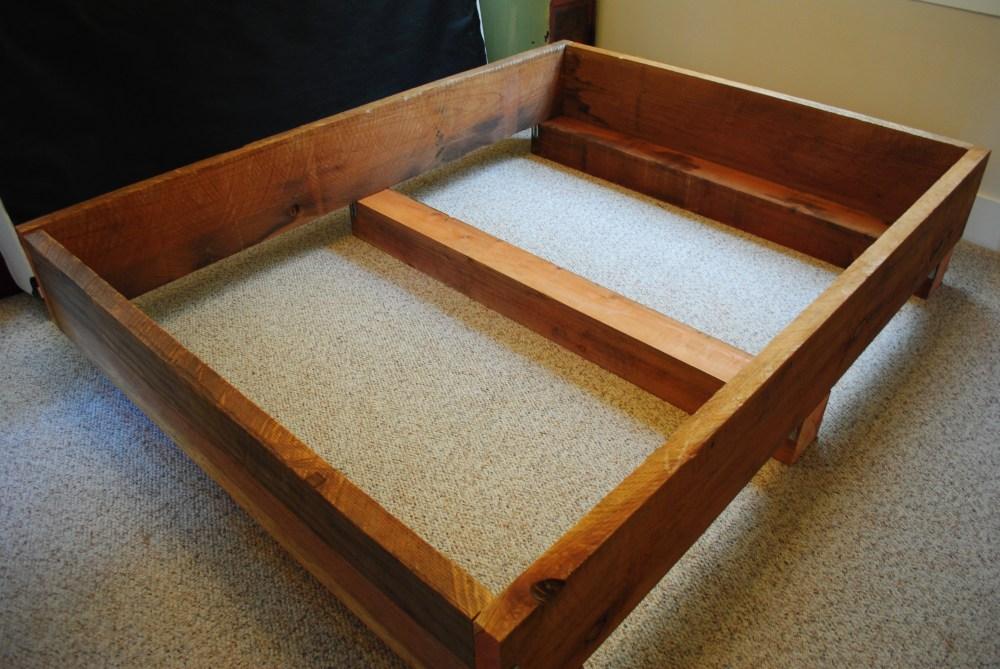 Queen Bed Frame Build