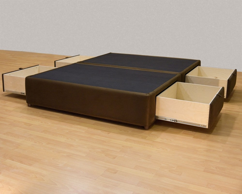 Queen Bed Frame Storage