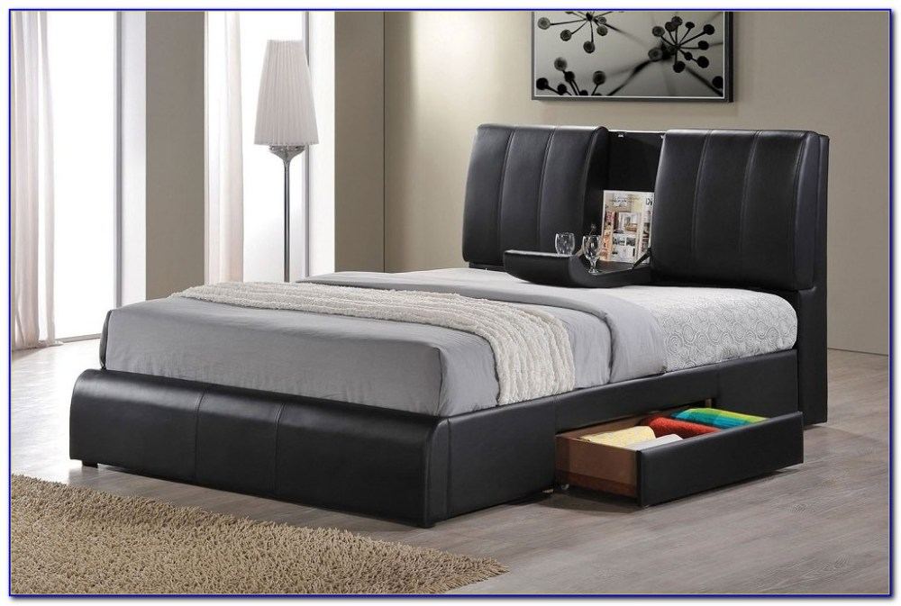 Queen Bed Frame With Drawers Building Plans