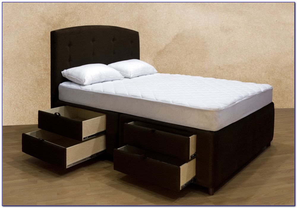Queen Bed Frame With Storage Costco