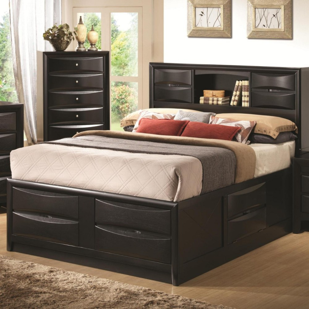 Queen Bed Frame With Storage Underneath