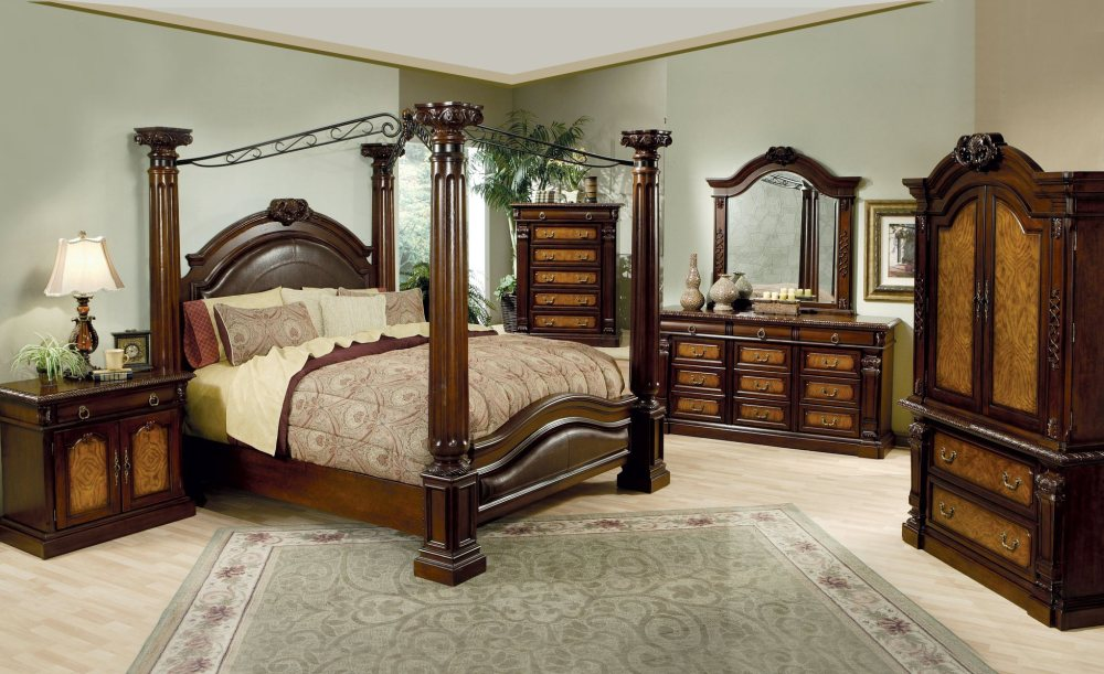 Queen Canopy Bed Frame