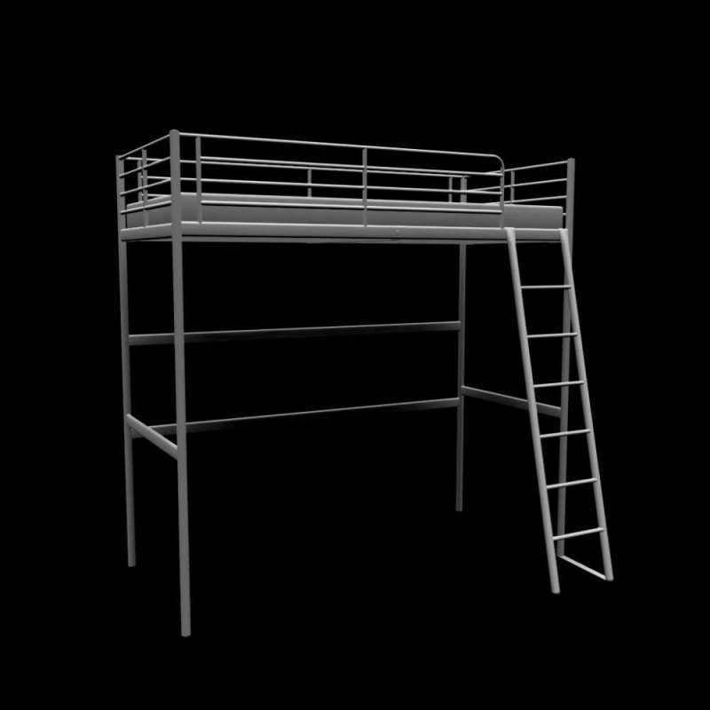 Queen Loft Bed Frame For Sale