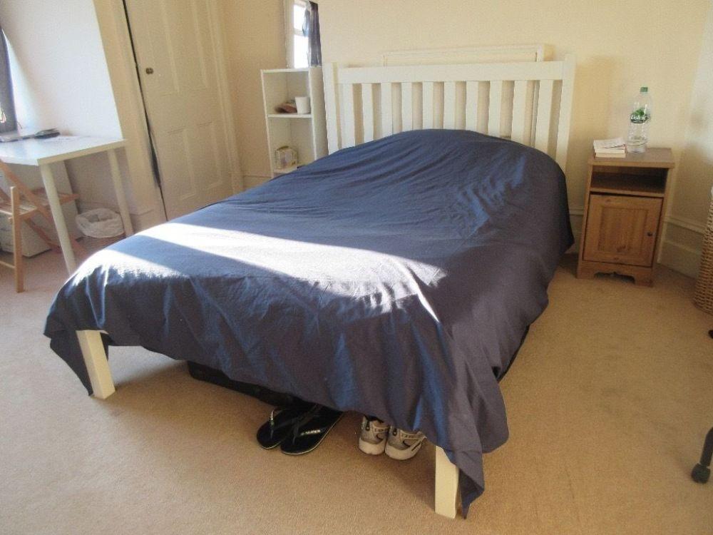 Queen Mattress Double Bed Frame