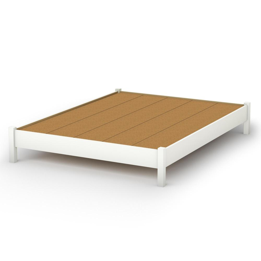 Queen Platform Bed Frame Without Headboard