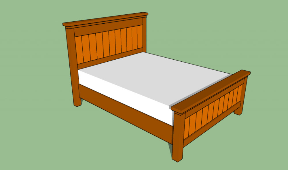 Queen Size Bed Frame Ideas