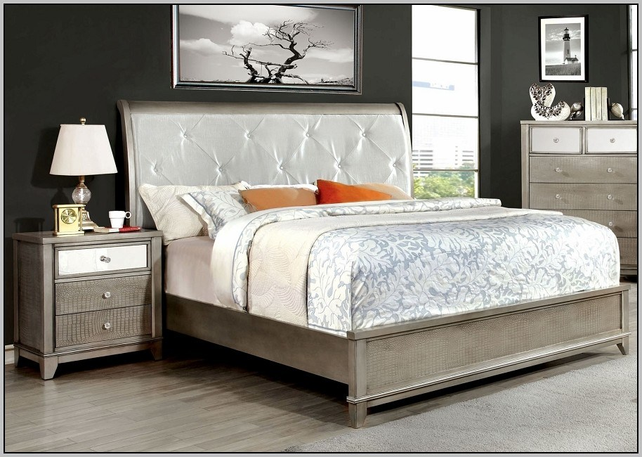 Queen Size Bed Frame With Drawers Canada