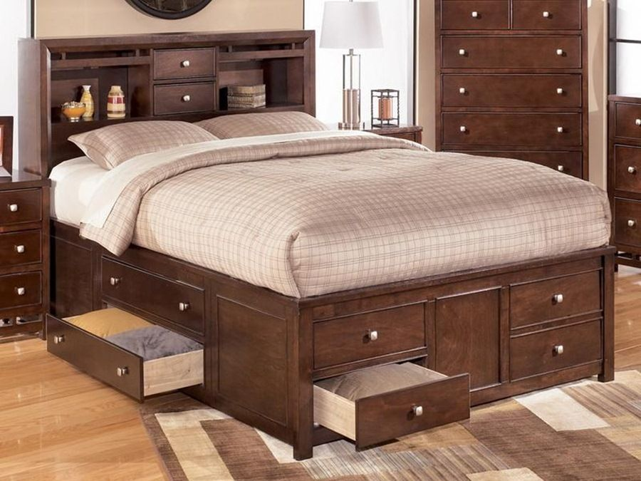 Queen Size Bed Frames With Drawers