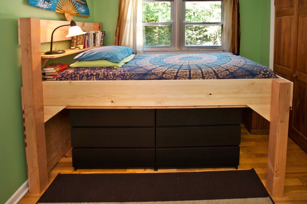 Queen Size Bunk Bed Frame Plans