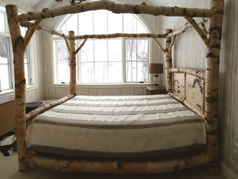 Queen Size Canopy Bed Frames