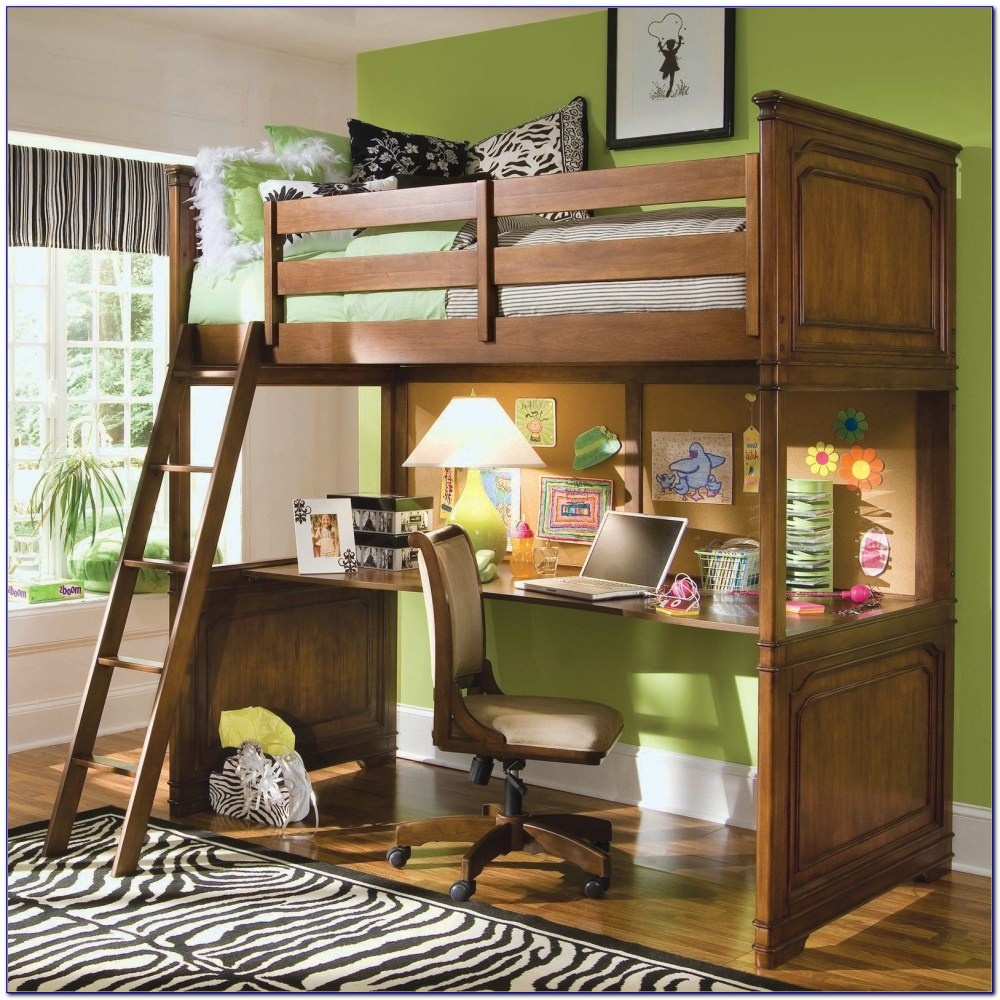 Queen Size Loft Bed Frame Metal