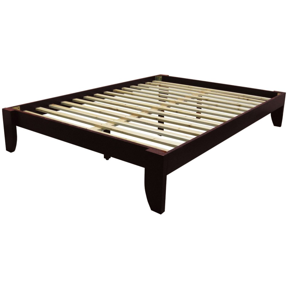 Queen Size Platform Bed Frame Dimensions