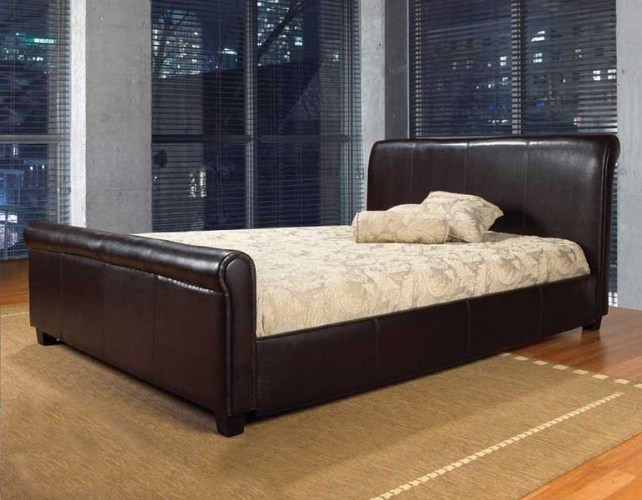 Queen Size Sleigh Bed Frame For Sale