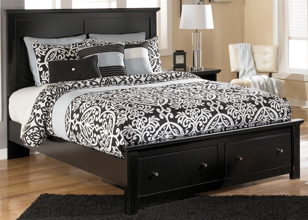 Queen Size Storage Bed Frame