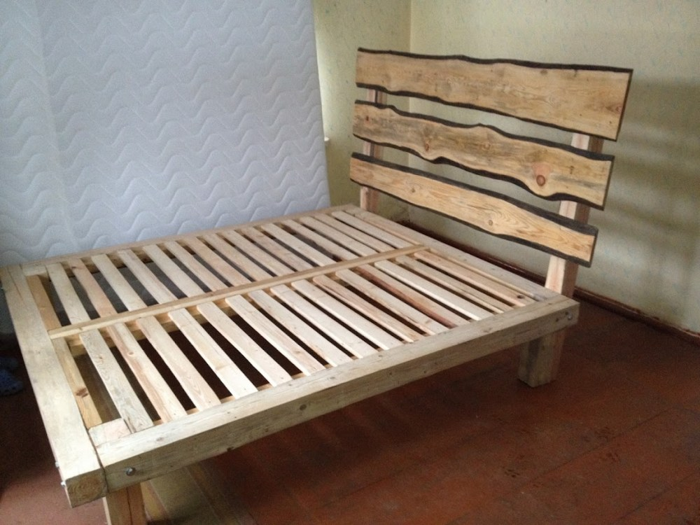 Queen Size Wood Bed Frame Diy