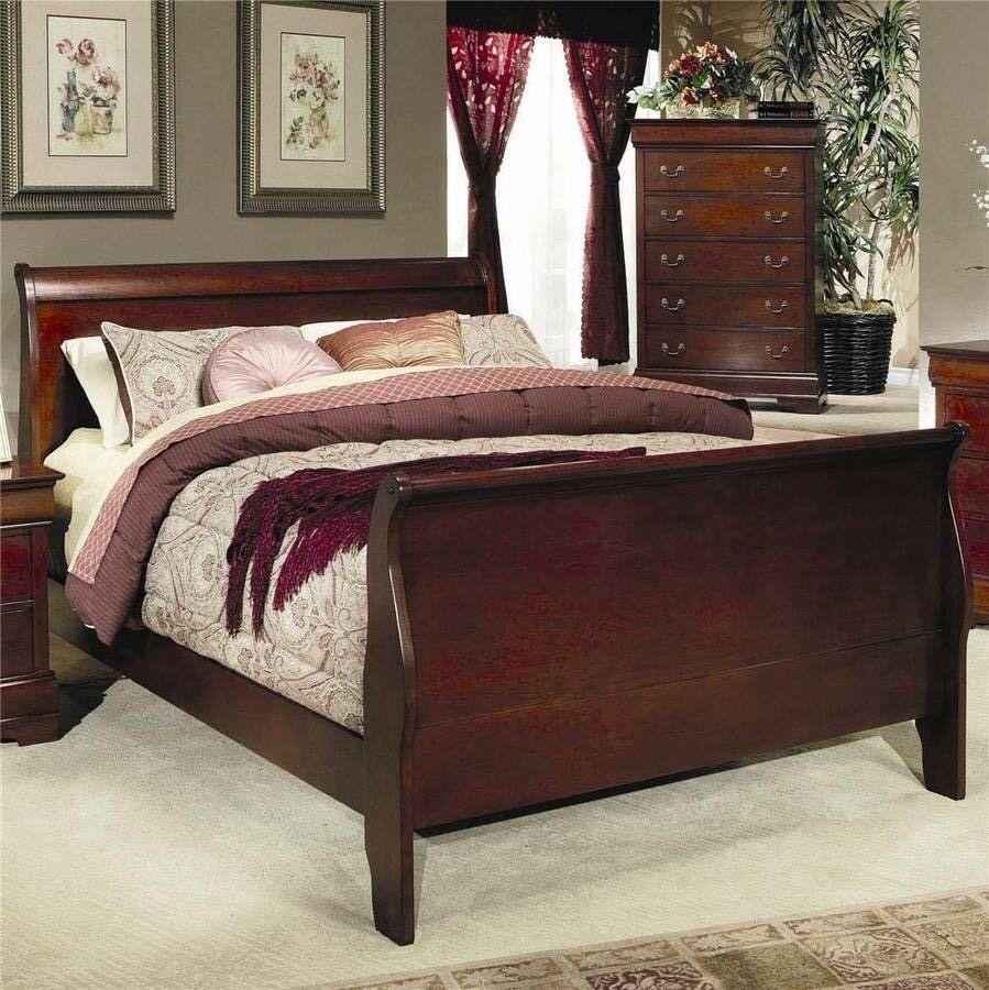 Queen Sleigh Bed Frame Ebay