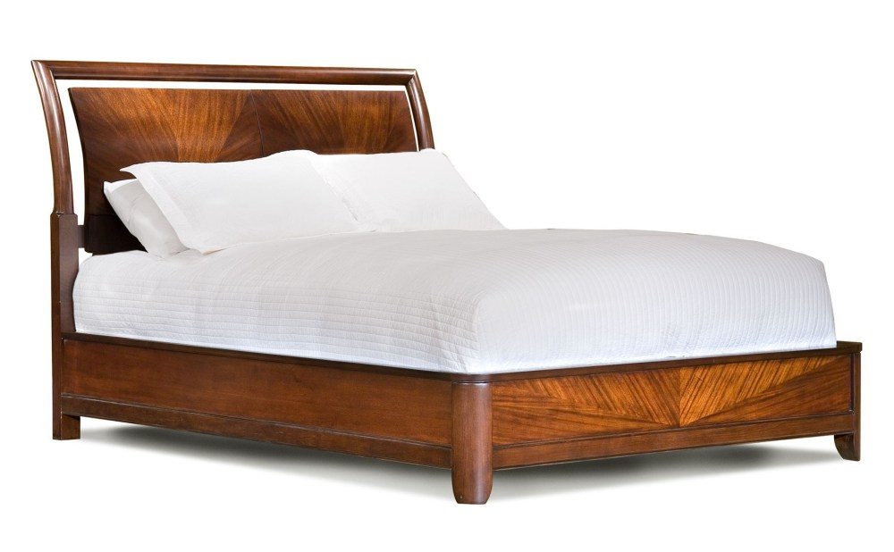 Queen Wooden Bed Frame With Headboard