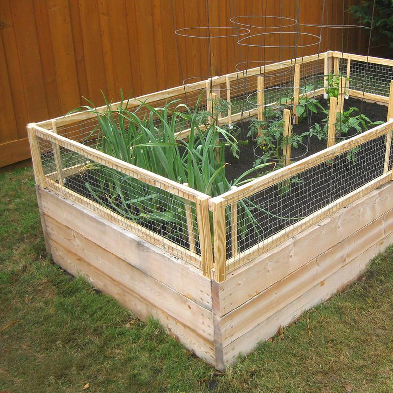 Raised Bed Frame Ideas