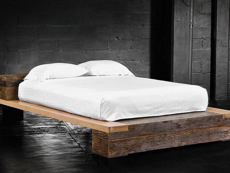 Reclaimed Wood Bed Frame Etsy