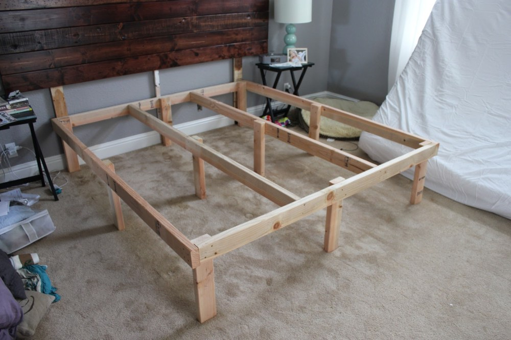 Reclaimed Wood Cal King Bed Frame