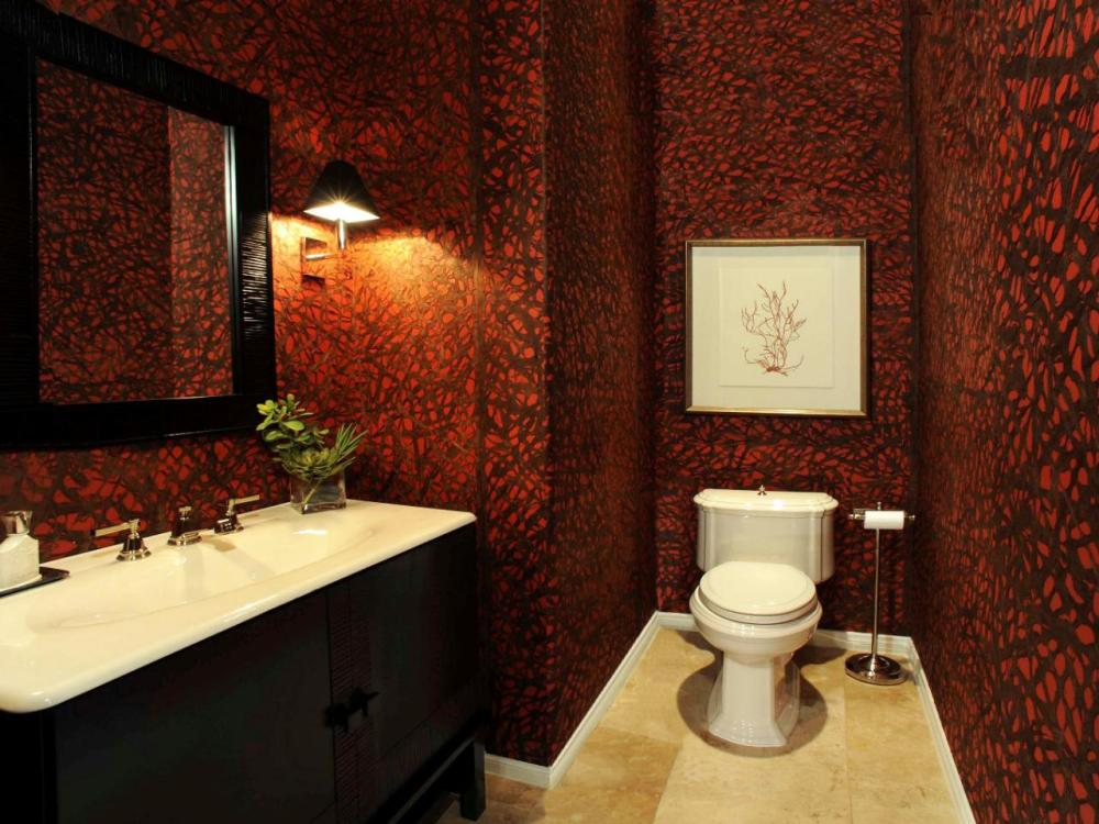Red Bathroom Ideas Decorating