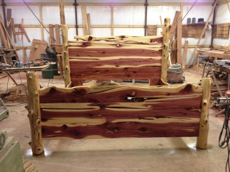Red Cedar Bed Frame