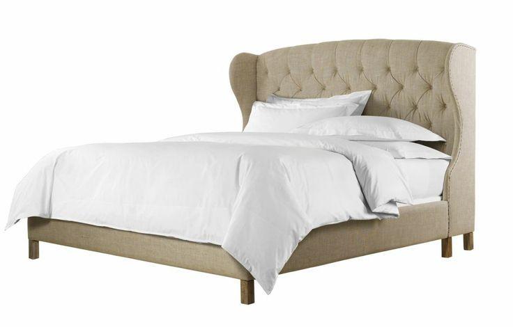 Restoration Hardware Upholstered Bed Frame