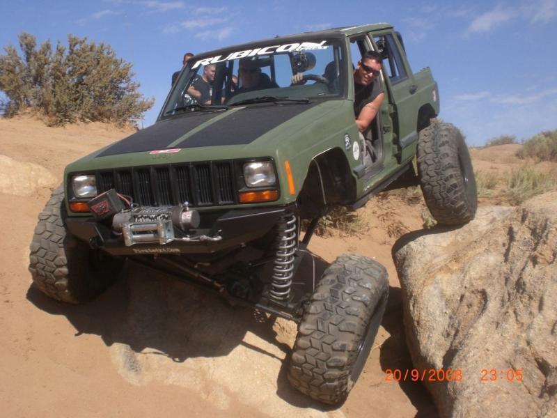 Rock Jeep Bed Frame