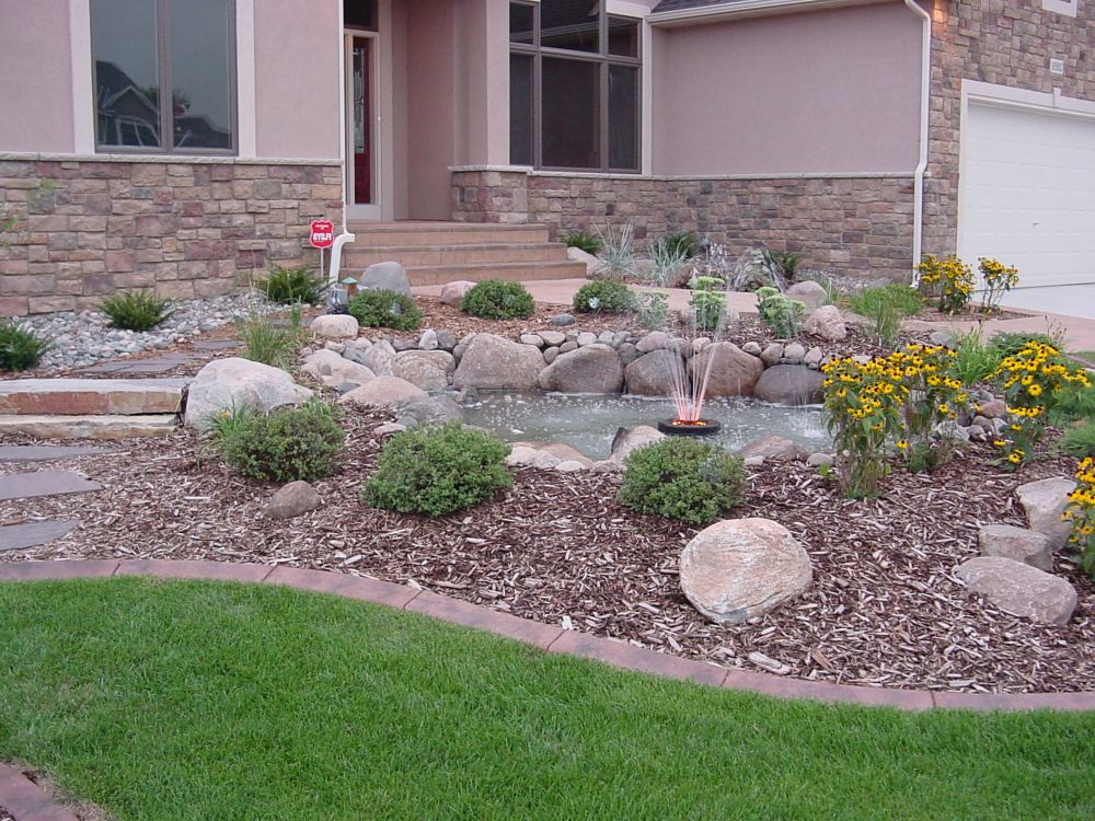 Rock Landscaping Ideas Front Yard