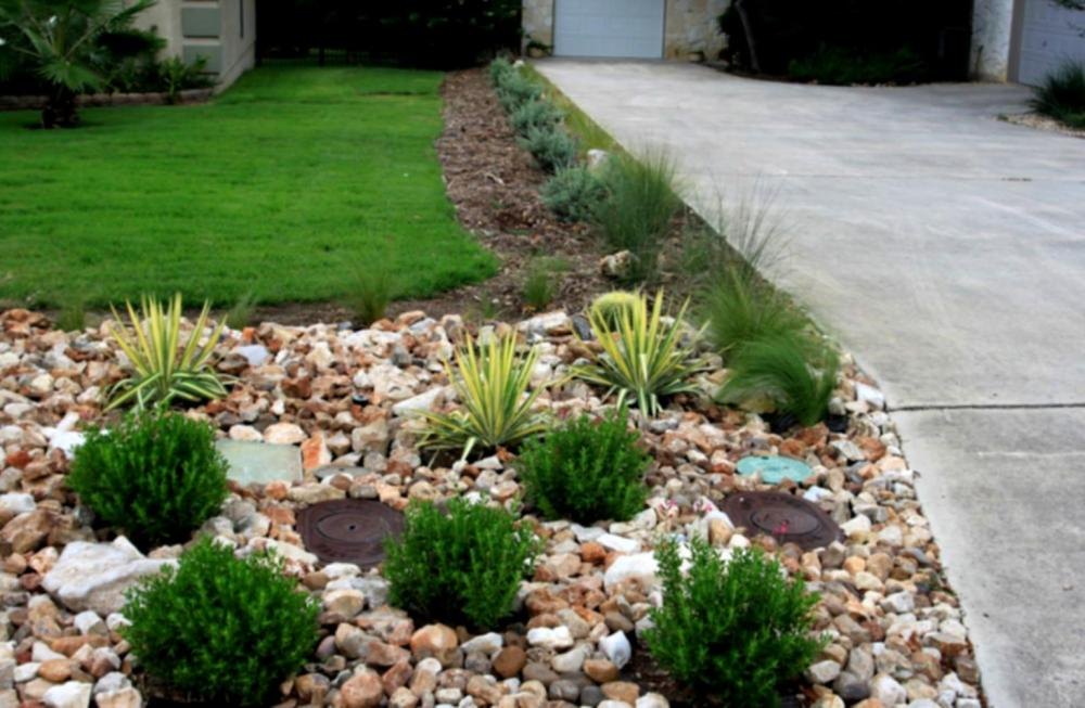 Rock Mulch Landscaping Ideas