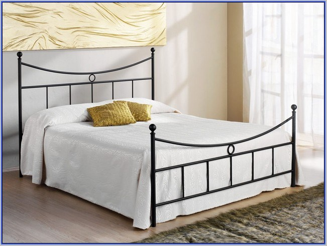 Rod Iron Bed Frame Queen