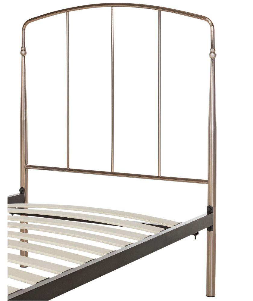 Rose Gold Bed Frame Single