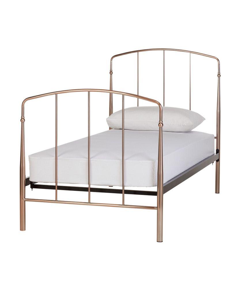 Rose Gold Bed Frame