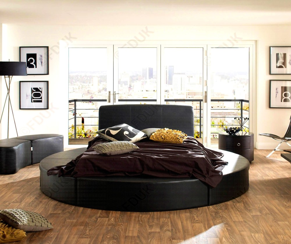 Round Bed Frame And Mattress
