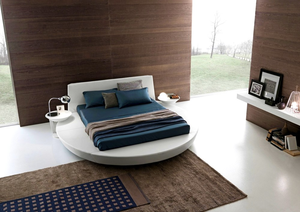 Round Bed Frame For Square Mattress